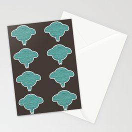Wooly Sheep - 1 Stationery Cards