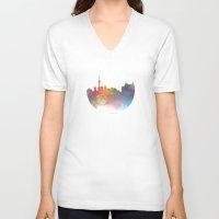 toronto V-neck T-shirts featuring Toronto  by Daniel McLaren