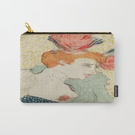 Vintage poster - Woman Carry-All Pouch