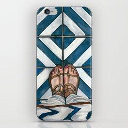 Art Beneath Our Feet - Cabarita Beach, Australia iPhone Skin