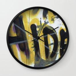 Urban Abstract 84 Wall Clock