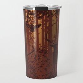 Autumn Deer Travel Mug