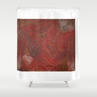 human Shower Curtains featuring human by merry