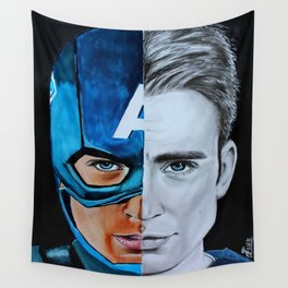 Steve Rogers Wall Tapestry