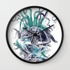 strange artefact amusement park Wall Clock