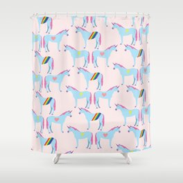 the untouchable one Shower Curtain