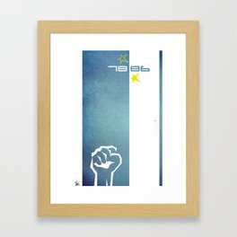 Argentina World Cup Framed Art Print