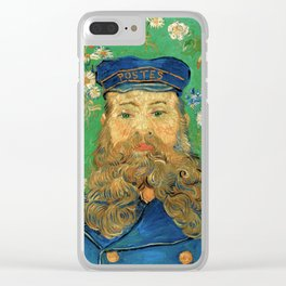 Portrait of Joseph Roulin by Vincent Van Gogh, 1889 Clear iPhone Case