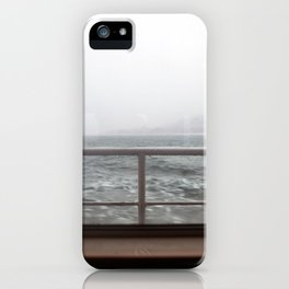 Ship in Mist iPhone Case