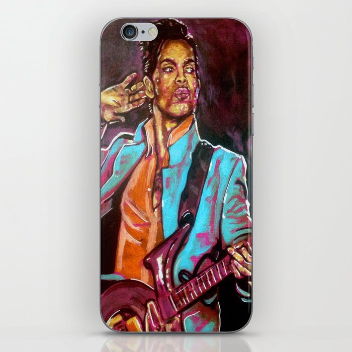 Purple Funk iPhone Skin