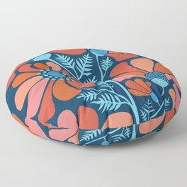 Flower Power IV Floor Pillow