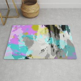 Colorful Abstract Retro Tie-Dye Art Pattern - Kameko Rug