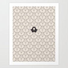 Black Sheep Art Print