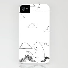 Angry Dino iPhone (4, 4s) Slim Case