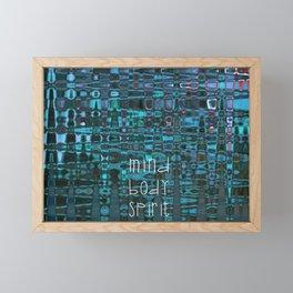 Mind Body Spirit Framed Mini Art Print