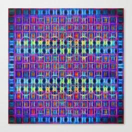 Neon Chocolates Canvas Print