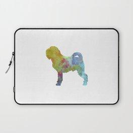 Griffon Belge in watercolor Laptop Sleeve