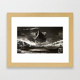 Hammer To Fall Framed Art Print