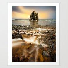 Hvitserkur - Iceland  (RR138) Art Print