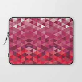 Pink and Purple Triangle Pattern Laptop Sleeve