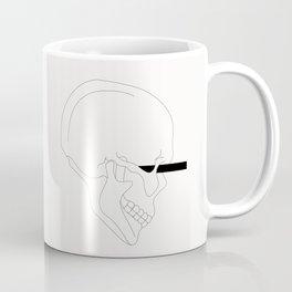 LINE #Skull (White) Coffee Mug