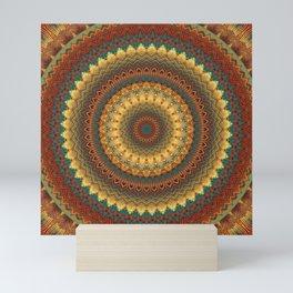 Earth Mandala 6 Mini Art Print