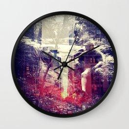 At odds Wall Clock