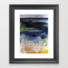 recent dream Framed Art Print
