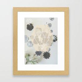 Floral Statement Framed Art Print