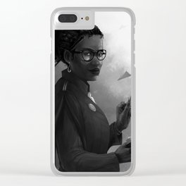 Minister Hermione Granger Clear iPhone Case