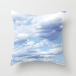 Coulds. Throw Pillow
