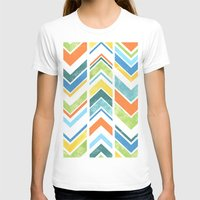 chevron T-shirts featuring Chevron by Tayler Willcox
