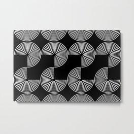 ROUND_ROUND_003 Metal Print