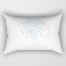 "VALENTINE'S DAY: ""Wifey"" Diamond Ring Rectangular Pillow"