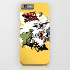 T-Rex VS Shark  iPhone 6 Slim Case