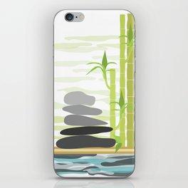 Feng shui meditation iPhone Skin