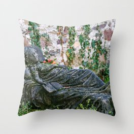 Sleeping Beauty, Tombstone Photograph Throw Pillow
