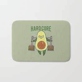 Hardcore Avocado Bath Mat