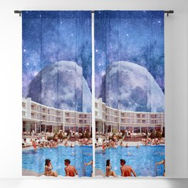 Summer in Space Blackout Curtain