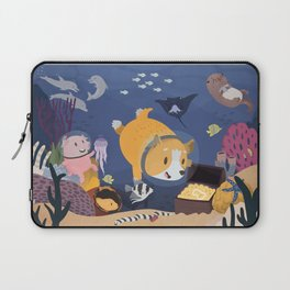 Diving For Treasure! Laptop Sleeve
