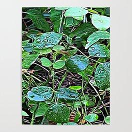 Living Leaves Poster