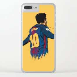 Messi Clear iPhone Case