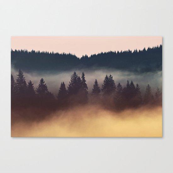 Foggy Layers Canvas Print