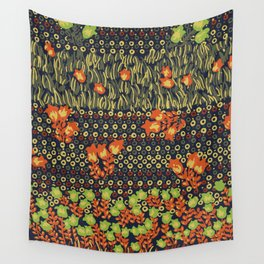 retro meadow Wall Tapestry