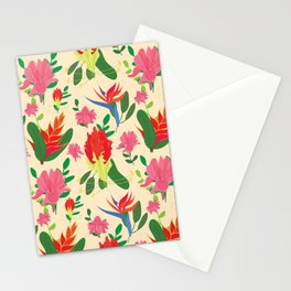 Tropical afternoon Stationery Cards