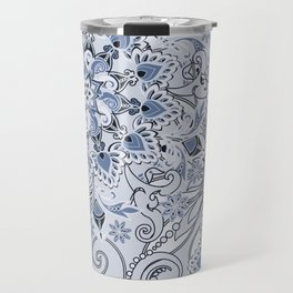 Mandalas and flowers Travel Mug