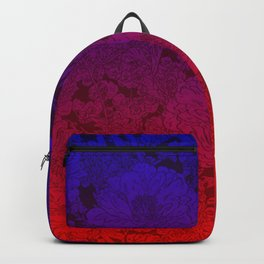 Roses Are Red Flowers Are Blue Christmas gift for her Backpack