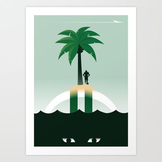 Revis Island Art Print