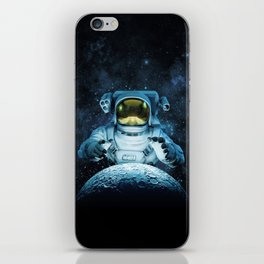 Reach for the Moon iPhone Skin