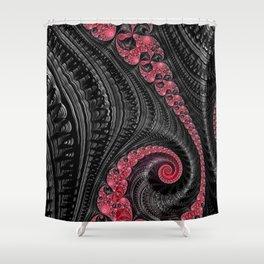 Licorice Twists Shower Curtain